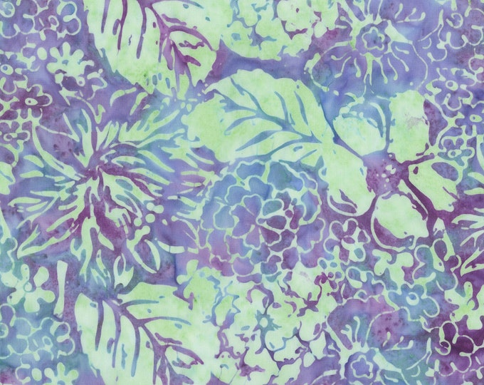 Anthology - Batik - Selfport Garden - 236-4 - Lavender - Sold by the yard