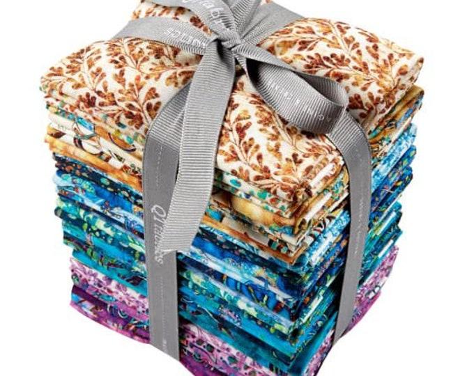 "Quilting Treasures - Kashmir Fat Quarter Pack - Mandalas -  25 Fat Quarters (18""x20"")  - FREE SHIPPING"