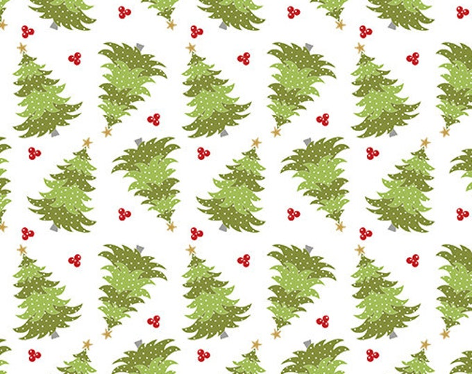 Benartex - Heart and Home - Trees -  Quilt Shop - Christmas - 10327-09 - Sold by the Yard