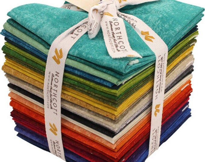 Northcott - Canvas - Fat Quarter Pack - 18x21 - 32 Fat Quarters per Pack -  FREE SHIPPING - Sold by the Fat Quarter Pack