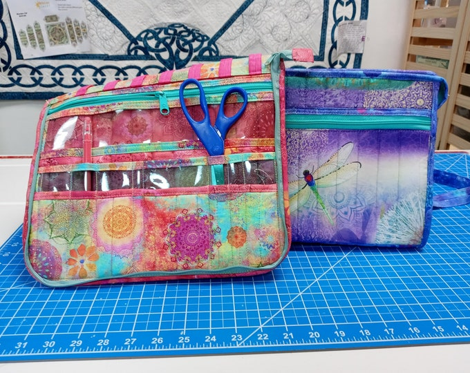 Running with Scissors - Tool Case - 3 Day Virtual Class -Take a Stand Companion pattern - Class from the Comfort of your HOME - Intermediate