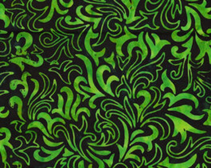 Anthology - Batik - Quilt Essentials - 16742 - Green - Swirl