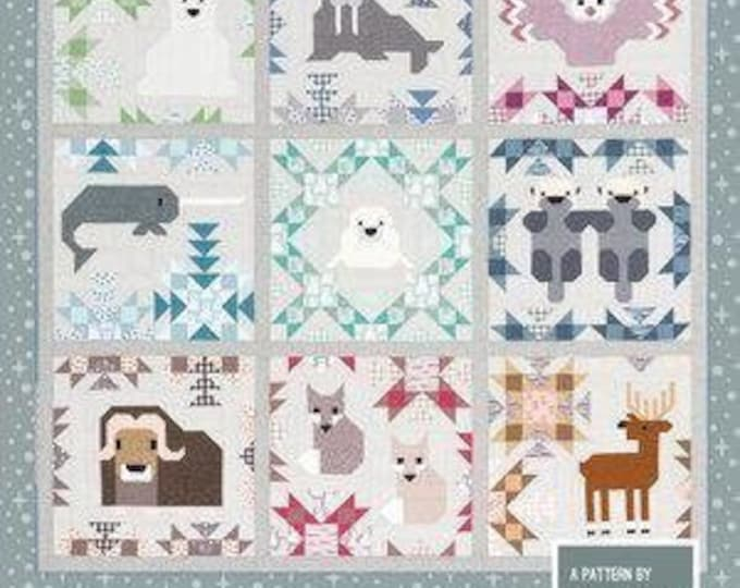 Elizabeth Hartman - North Star - Pattern - Includes two sizes for quilts - Aso includes Pillow  - Large Quilt pattern - Small quilt pattern