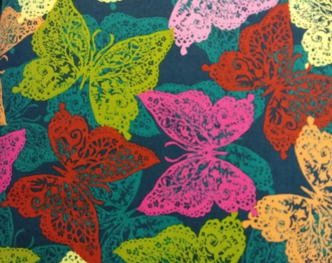 Quilting Treasures - by Junebee Designs for Ink & Arrow fabrics -  Ashtyn - Butterfly - 26280 N - Sold by the Yard