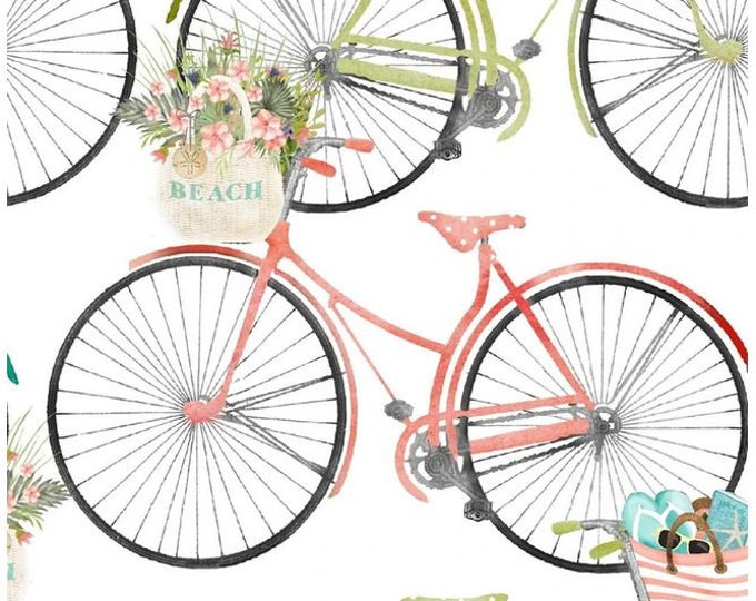 3 Wishes - Three Wishes - Beach Travel - Beach - Bicycles -  17341 - Sold by Yard