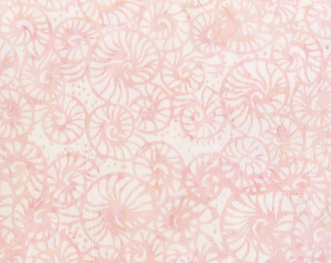 Anthology - Batik - Shell - Nautilus Shell - 240Q-1 -  Sold by the yard