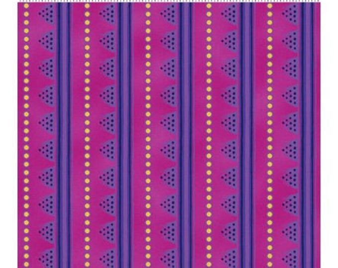 Laurel Burch - Laurel Land -  Dark Fuchsia - Y1783-78M - Yard - Metallic