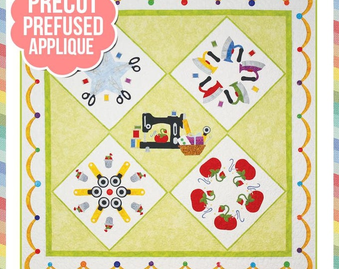 Stitchin Addiction - Precut/Fused Applique Kit including Pattern