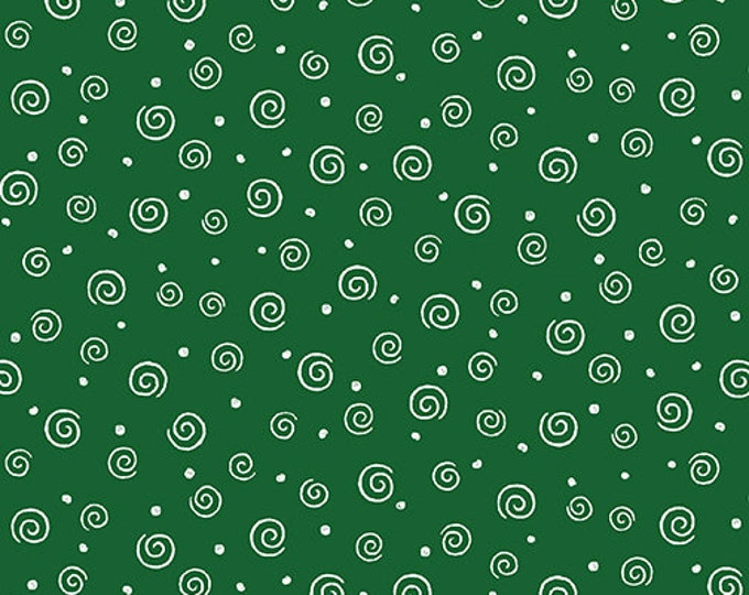 Benartex - Swirl Glow  - Green - 8920GL44B  - Sold by the Yard