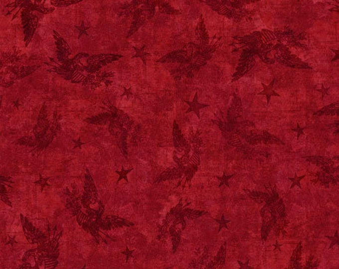 Quilting Treasures - American Pride - Red - 26979R - Sold by the Yard
