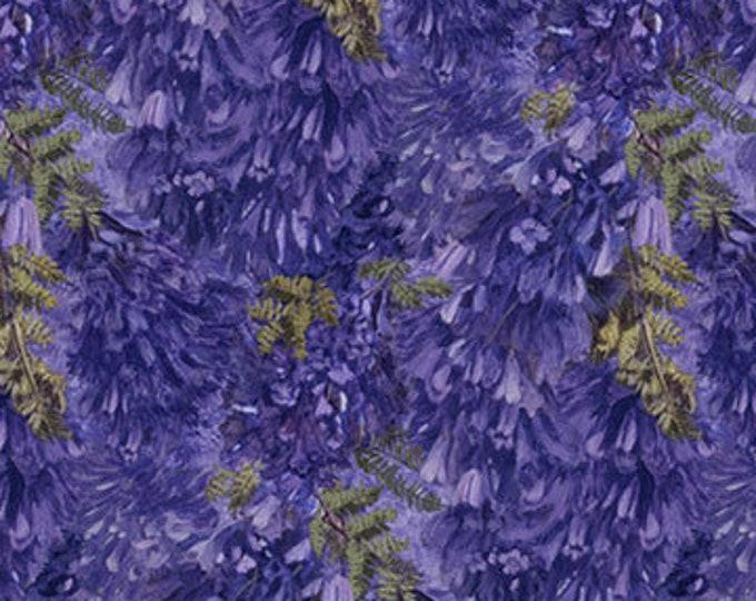 New - Northcott - Jacaranda - Floral -  DP24056 - Flower - Sold by Yard