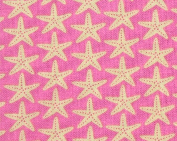 Timeless Treasures - Pink Star Fish - Fabric by the Yard