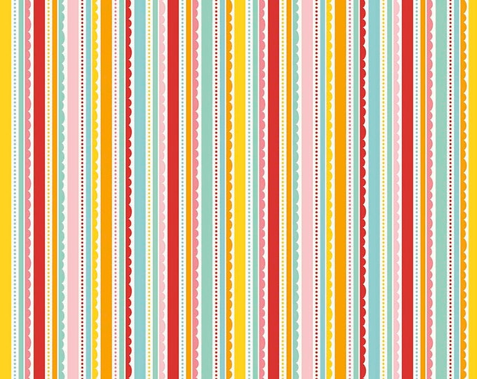 Riley Blake - Happy Stripe - Multi - C5915