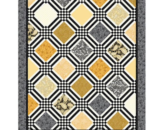 Benartex - Platinum Jubilee - Quilt Kit - Amanda Murphy  - Quilt Kit -  Sold by the Kit