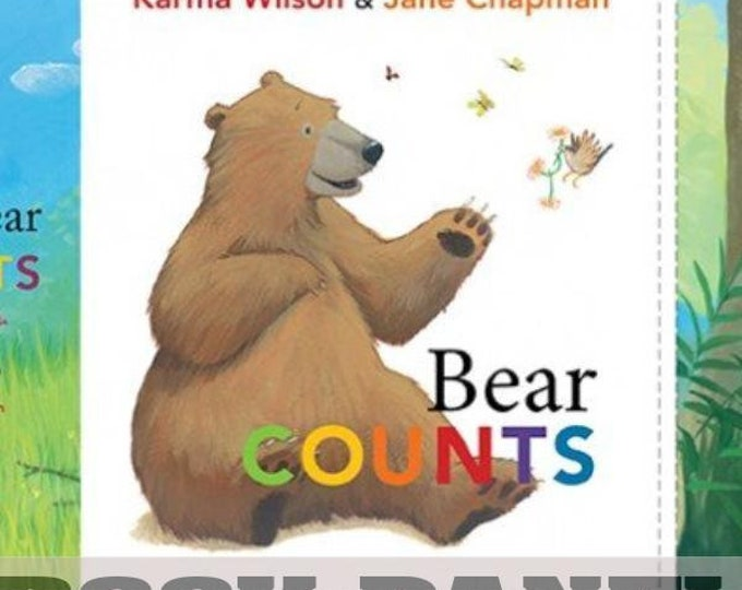 Elizabeth Studio - Bear Counts - Book -  Panel - Sold by Panel