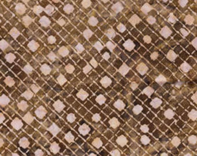 Anthology - Batik - Quilt Essentials - 16704 - Brown - Dots