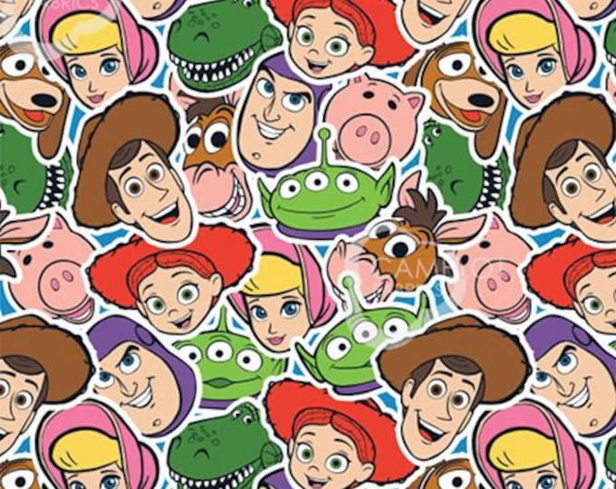 Camelot - Toy Story 4 -  All Over Print - Sold by the Yard