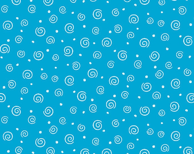 Benartex - Swirl Glow  - Turquoise - 8920GL84B  - Sold by the Yard