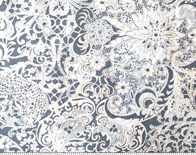 Northcott - Banyan Batik - Candy Wafers - Lustre Batik - 81222-91 - White - Batik - Sold by the Yard