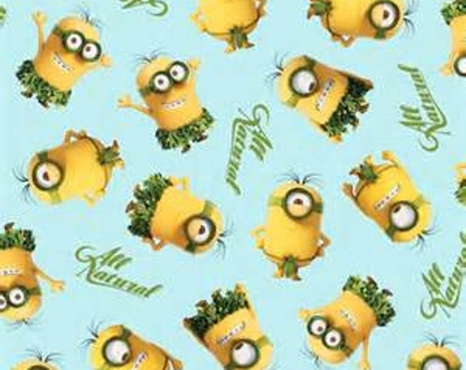 Quilting Treasures - Minions - All Natural - Fabric