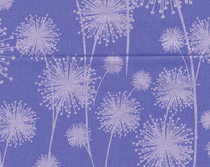 Kanvas for Benartex - Pearl Reflection - Pearl - Dandelion  - Purple - 8461P-66 - Pearl - Sold by the Yard