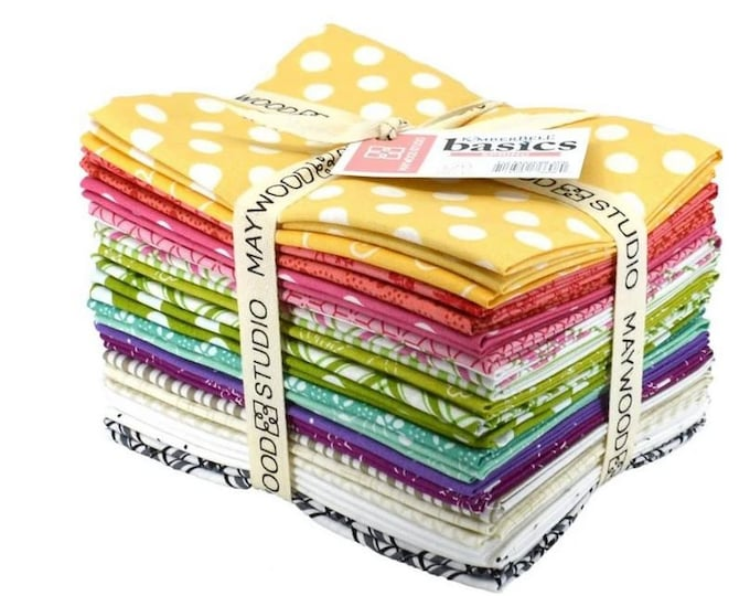 Kimberbell - Basics -  Spring - Fat Quarter Pack - 18x20 - 21 Fat Quarters per Pack - Sold by the Fat Quarter Pack