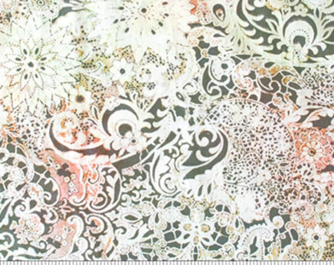 Northcott - Banyan Batik - Candy Wafers - Lustre Batik - 81222-56 - Coral - Batik - Sold by the Yard