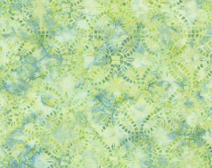 Tonga Batik - Spring - Jade Collection by Judy and Judel Niemeyer - Batik - Wedding Ring Batik - Sold by the Yard
