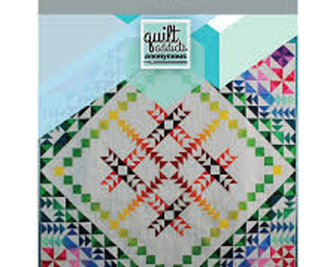 Quilt Addicts Anonymous - Dimensions Quilt Kit - Ombre fabric - Complete Kit - FREE SHIPPING