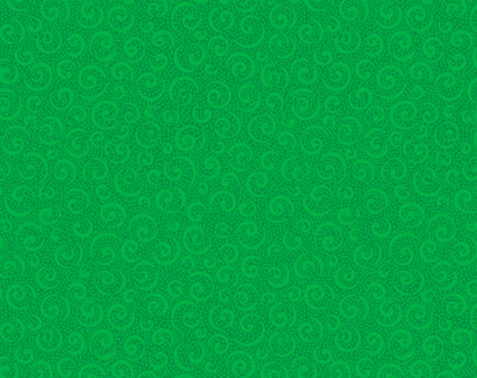 Quilting Treasures - Illusions Colours - Curly Cue - Green - 21517-G -  Sold by the Yard