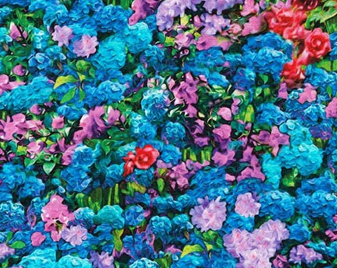 Robert Kaufman - Picture This - Sweet - Floral - 17278-287 - Flower Fabric - Sold by Yard