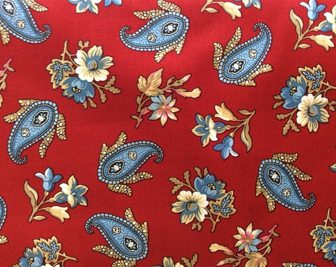 Penny Rose Reproduction Victoria - Red Fabric