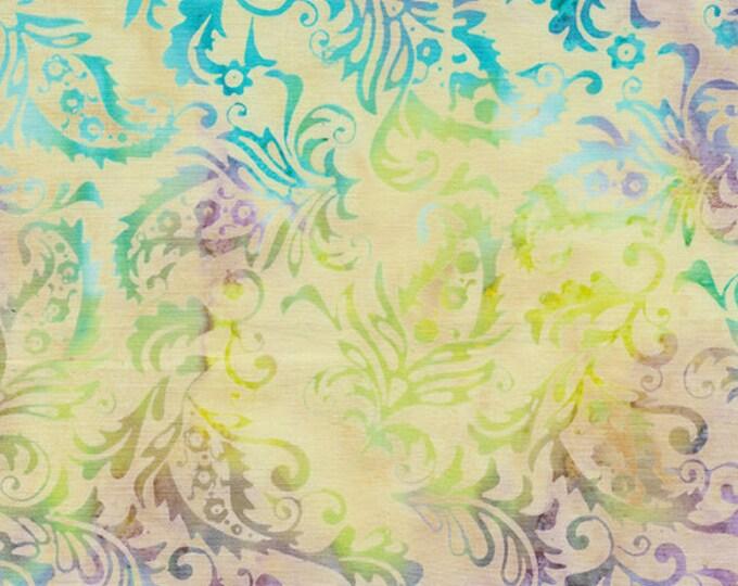 Island Batik - Paisley Outlining - Paisley Batik - Paisley - Batik - Multi Color - Mardi Gras - Sold by the Yard