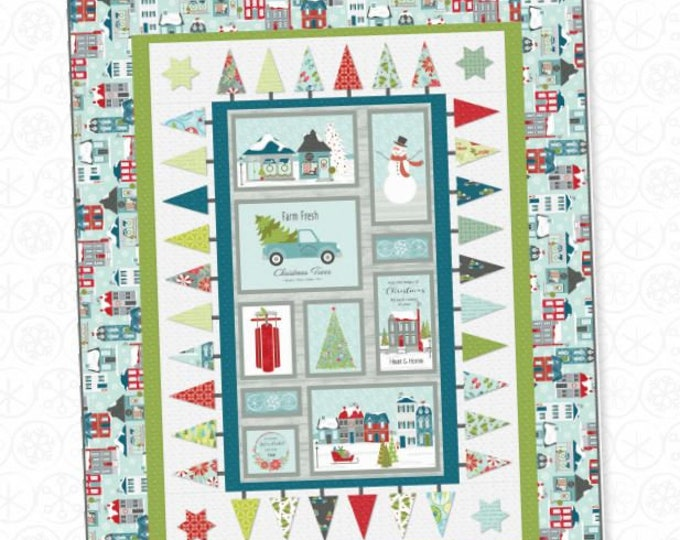 Benartex - Heart and Home - Poinsettia -  Quilt Shop - Christmas - 10323-13 -  Gray - Sold by the Yard