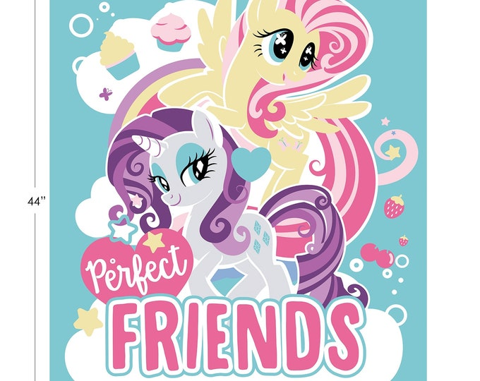 Camelot - Hasbro - My Little Pony - Perfect Friends Panel -  95010114P - Sold by the Panel