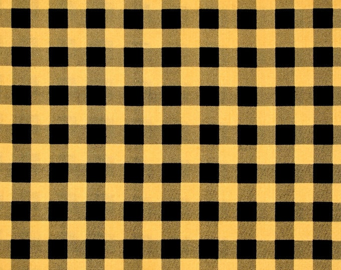 Quilting Treasures - North Woods - Buffalo check - Chamois - 26263S - Sold by the Yard