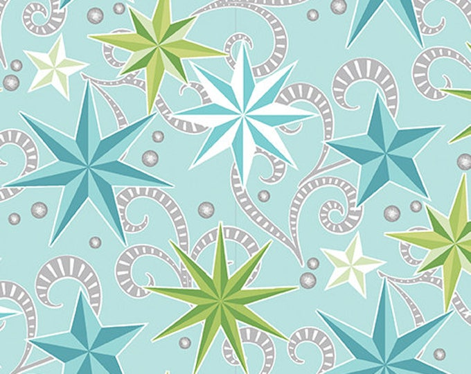 Contempo - Nordic Holiday - Stars - 1882-05 - Fabric by the Yard