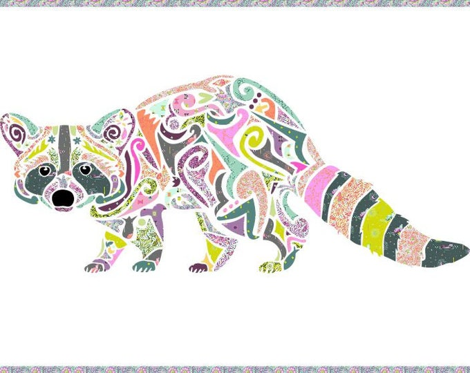 Reginald Raccoon - Raccoon Applique - Racoon - Precut/Prefused - Applique Kit including Pattern