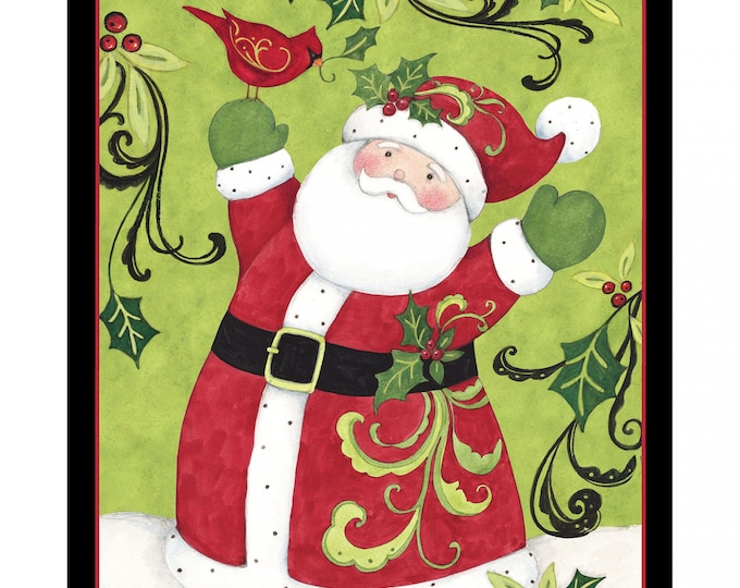 Spring Creative - Santa - Sold by the panel