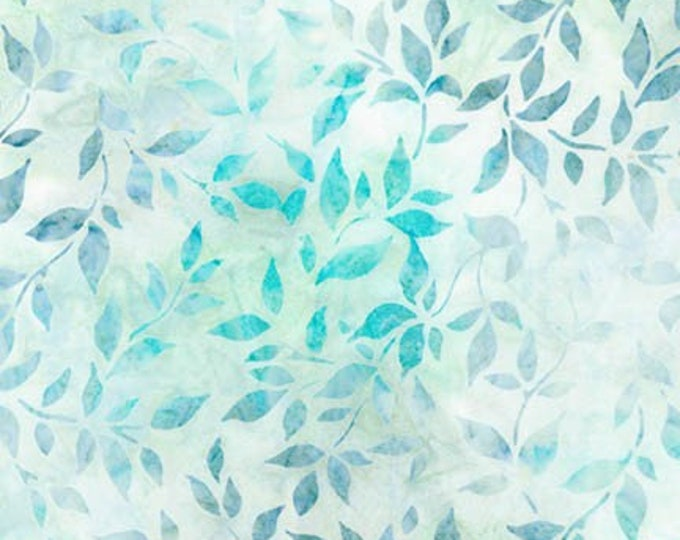 Robert Kaufman - Anemone - Batik -  AMD-16798-333 - Leaves Batik - Sold by the Yard
