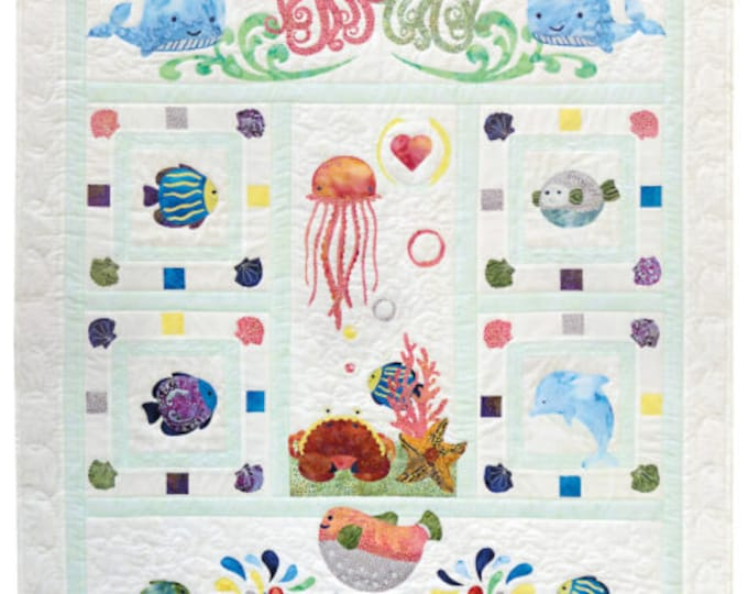 Quilt Fusion - Wee Sea - Applique Quilt Pattern