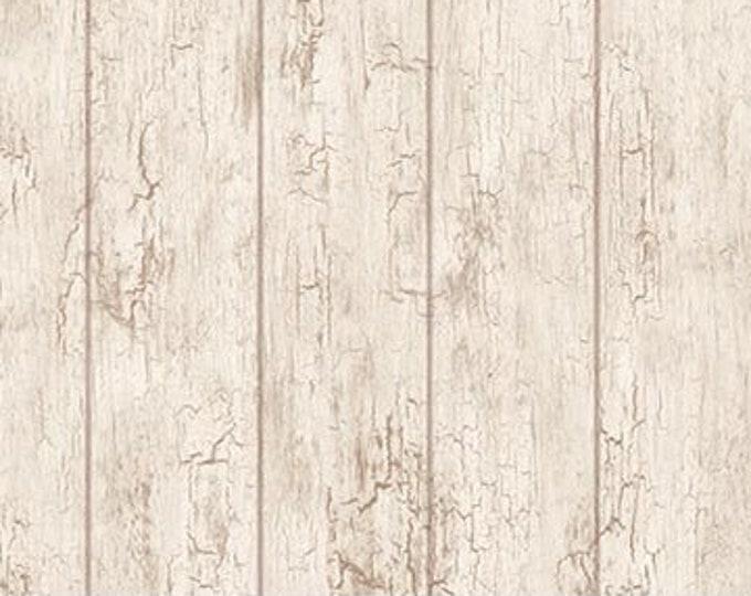 "Northcott - Coastal Christmas -  Wood Planks - Weathered Wood - Christmas - Beach Christmas - Ocean - 23429 11-  36""x44"" - Sold by the Yard"