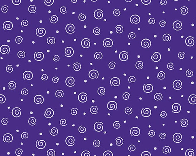 Benartex - Swirl Glow  - Purple - 8920GL66B  - Sold by the Yard