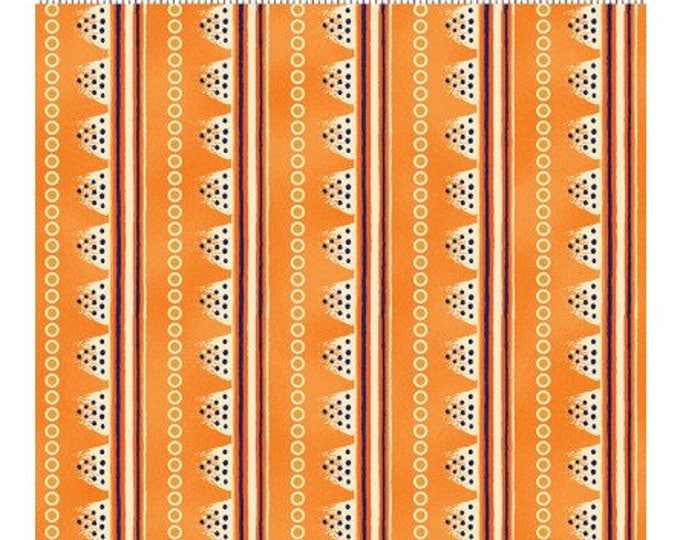 Laurel Burch - Laurel Land - Orange - Y1783-36M - Yard - Metallic