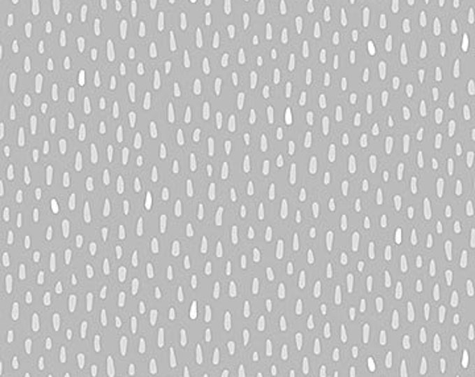 New - Northcott - Hello Little One - Gray Dots - Dot Fabric - Animal Baby Print - Baby Pastel - Baby - Pastel - 22700-91 -  Sold by yard