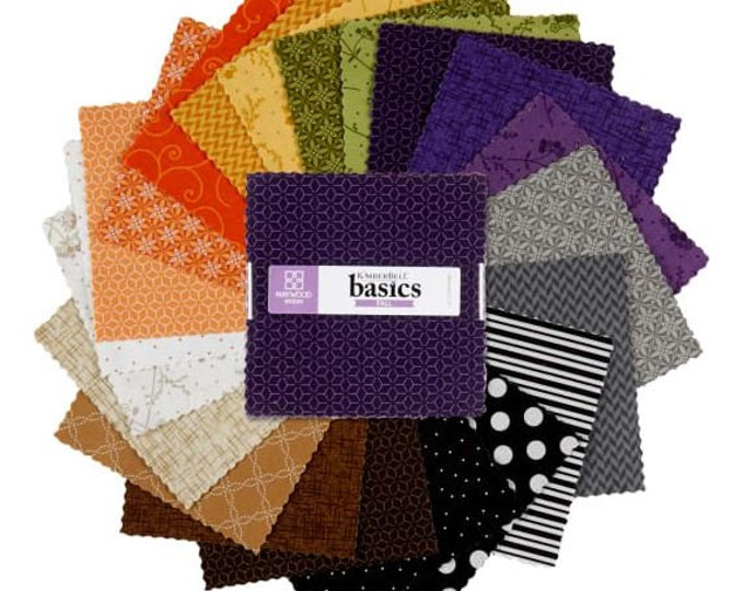 Kimberbell - Basics - Charm - Fall - Charm Pack - 5x5 - 42 charms per pack - Sold by the Charm Pack