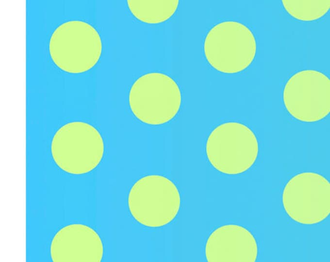 Quilting Treasures - Party Like a Unicorn - Dots - Ombre Dots - Teal/Green - 26911BG - Sold by the Yard