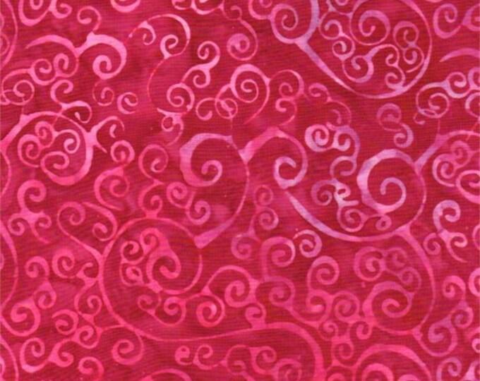 Batiks by Batik Textile - Batik - Swirl Batik - 4214 - Swirls - Magenta/Pink