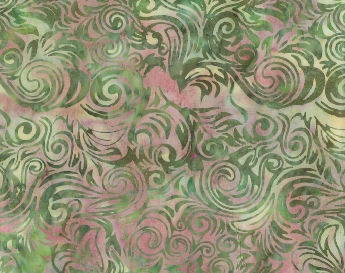 Anthology - Batik - Water Scroll - 237Q-1 -  Sold by the yard