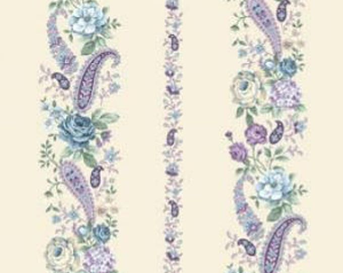 Henry Glass - Twilight Gardening - 8871-44 - Sold by the yard